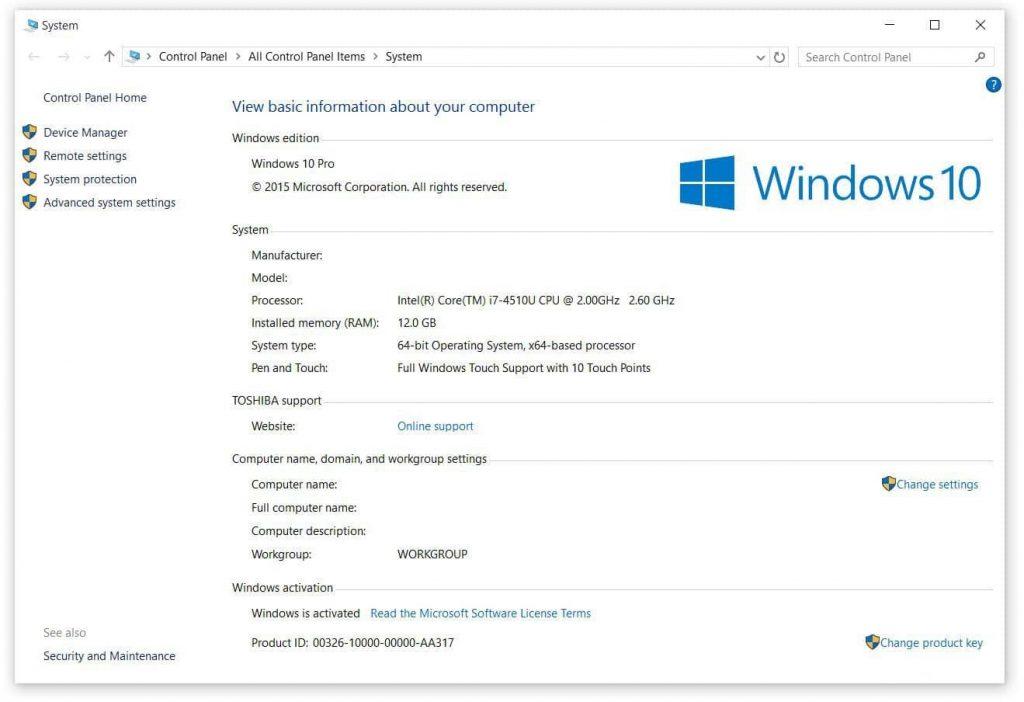 Windows-10-PRO-latest version